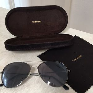 Tom Ford Authentic Aviator Sunglasses Case Cloth